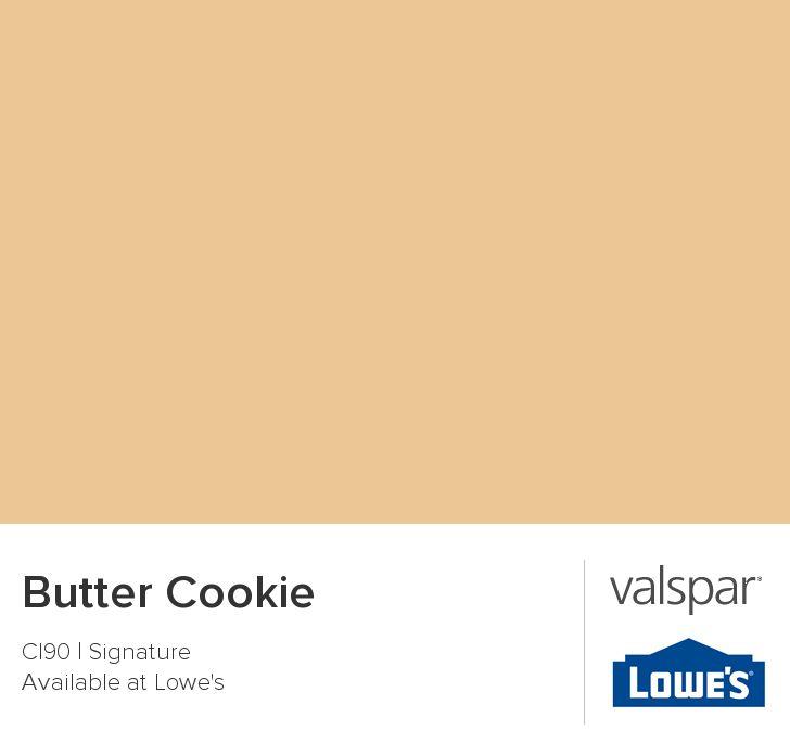 Butter Cookie From Valspar Paint Colors Pinterest