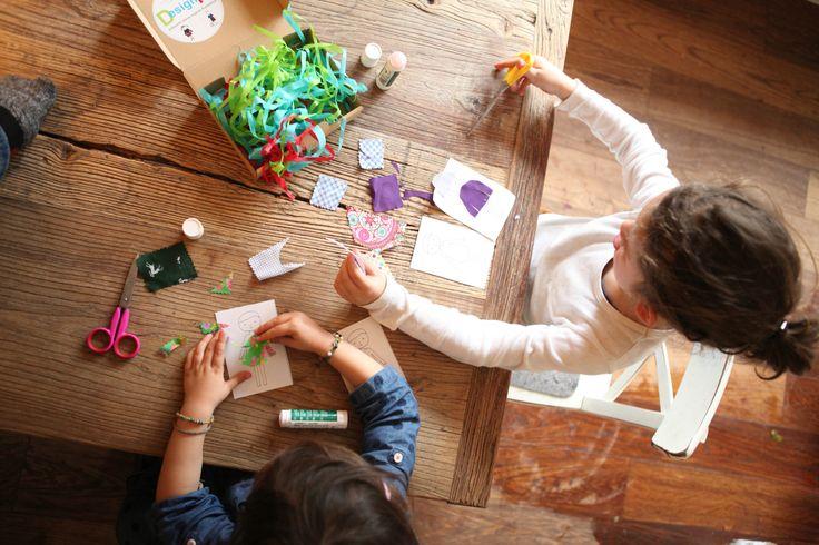 Die Spielidee für Kinder ab Drei. Das DesignKit. www.vonschneiderlein.de #designkit #vonschneiderlein