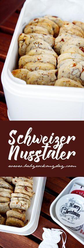 Schweizer Nusstaler, schmecken auch zur Weihnachtszeit, backt die schweizer Klas… – * Weihnachtsbäckerei – Plätzchen und Kekse | Rezepte