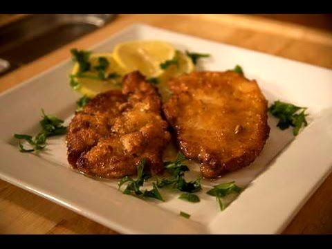 Chicken in Lemon Sauce - Scaloppine di Pollo al Limone Maybe with frozen cutlets from Costco for a super quick dinner.