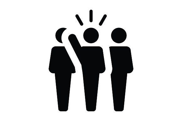 Leader Icon Human Icon Leadership Icon