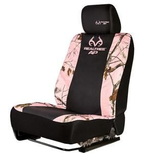 Realtree Pink Camouflage Low-Back Bucket Seat Cover, 2 Pack - Walmart.com
