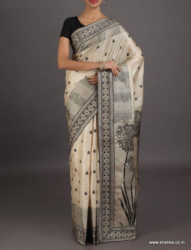 Chandrika Designer looking sophisticated #chikankarisilksaree