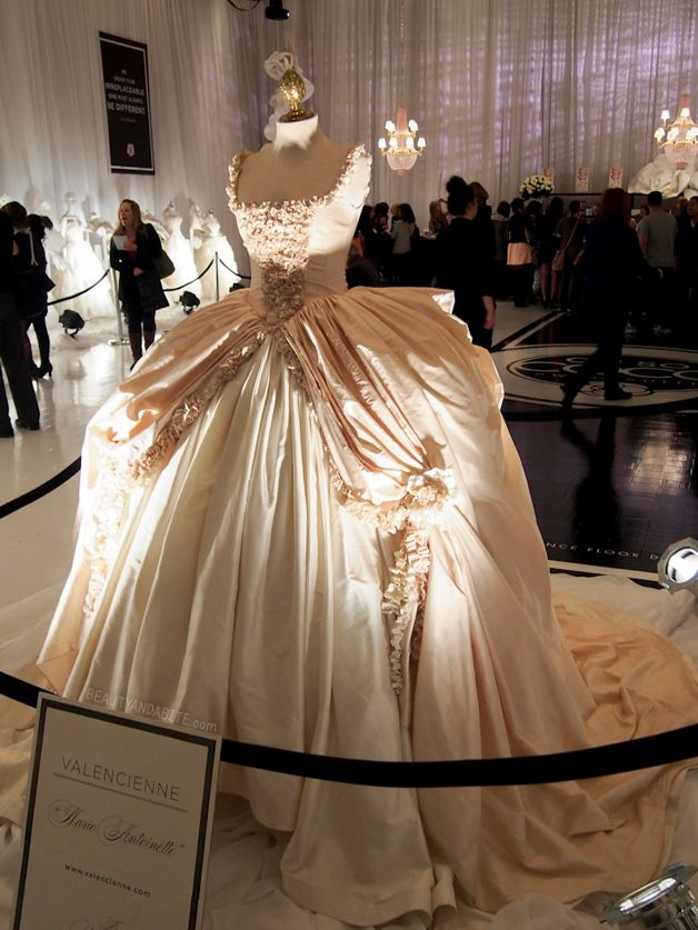 My wedding dress is beautiful....but I can't lie...this would definitely be my ultimate DREAM dress!