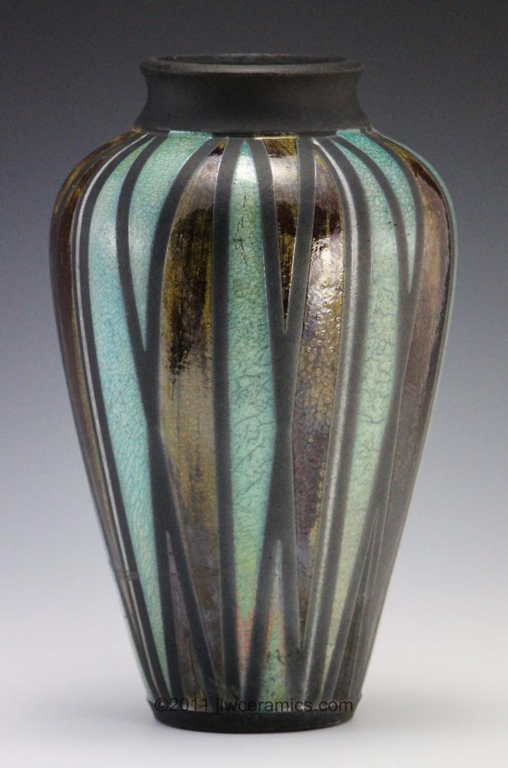 Top 57 ideas about raku ceramic works on pinterest for Pottery vase ideas