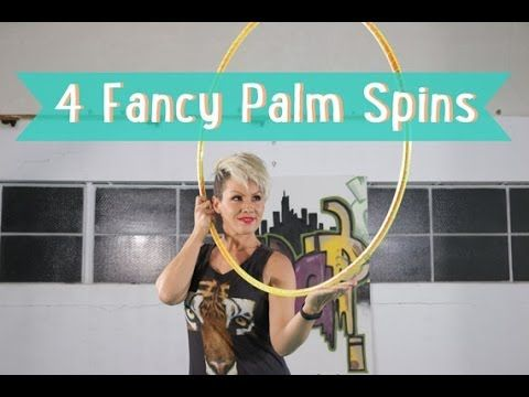 Hula Hoop Tutorial Part 1: How to do 4 different palm spins