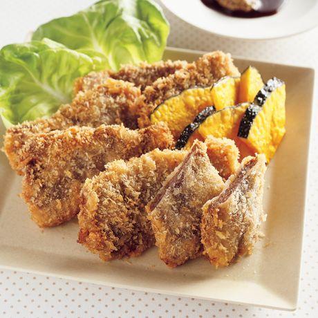 牛肉のやわらか一口カツ | 伊藤朗子さんの揚げものの料理レシピ | プロの簡単料理レシピはレタスクラブニュース