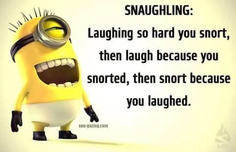 I snort when I laugh I'm so original - Idiot Nerd Girl - quickmeme