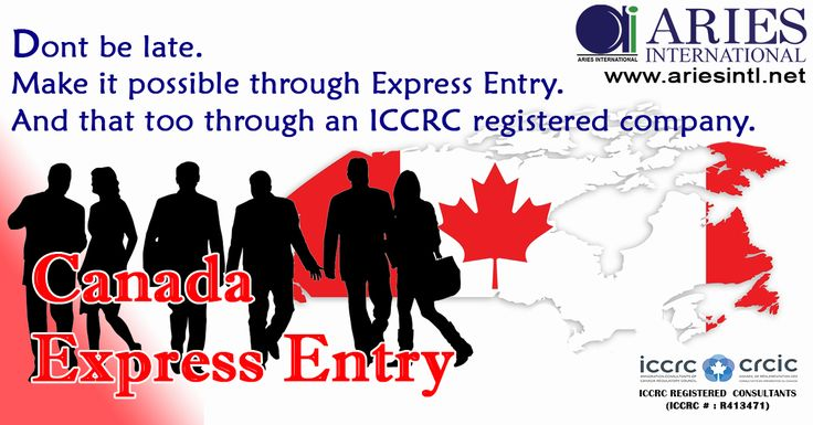 Don't Be Late... Make It Possible Through Express Entry.. Migrate To CANADA..  #Immigration #Consultant #ICCRC