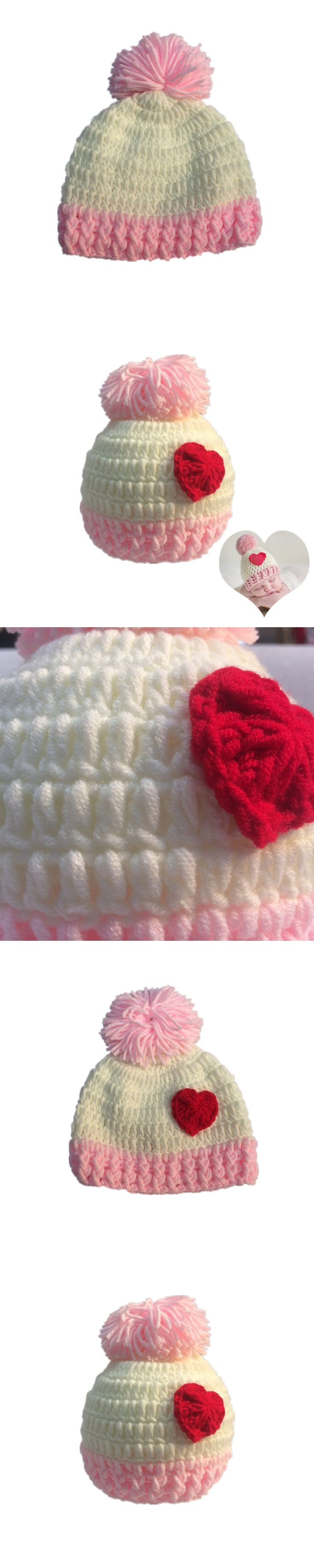 Free shipping of neonatal hand woven beauty s wool hat qiu dong baby photographed fashion hat