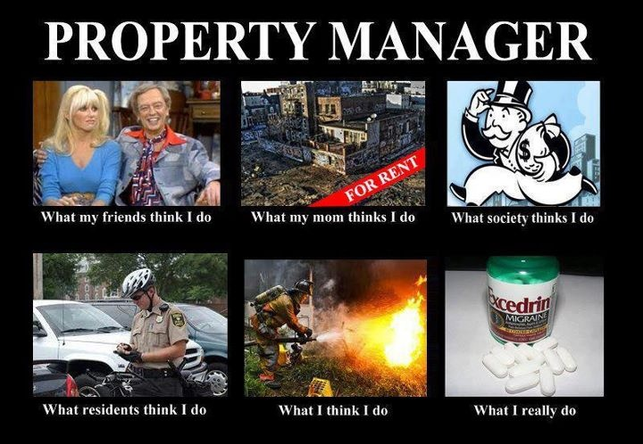 What property managers do.
