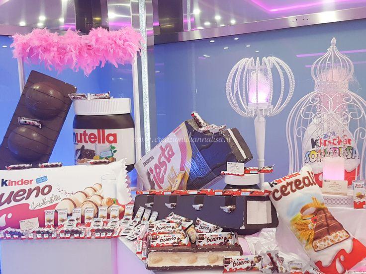 Kinderata per il 18° compleanno #kinderata #allestimento #eventi #compleanno #cioccolato #festa