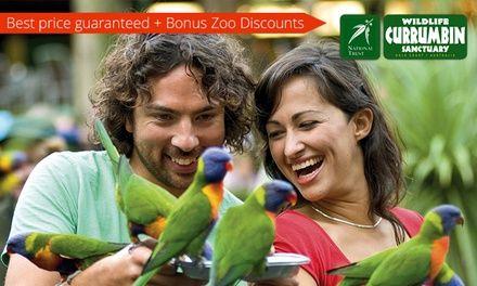 Currumbin Wildlife Sanctuary Gold Coast Deal of the Day | Groupon Gold Coast