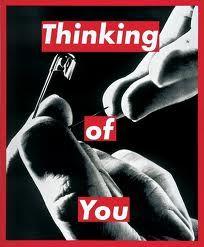 Barbara Kruger, Thinking of you, 1999
