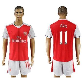 รีบเป็นเจ้าของ  2016--2017 Arsenal Football team home NO.11 Soccer Jersey suits -intl  ราคาเพียง  890 บาท  เท่านั้น คุณสมบัติ มีดังนี้ Arsenal Football team second away soccer jersey suits . Have elasticity. Tops + Shorts. Breathable. Perspiration Quick drying.