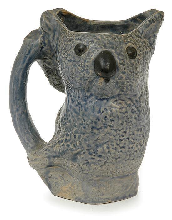 Merric Boyd (1888-1959) Victoria, circa 1928, earthenware jug…