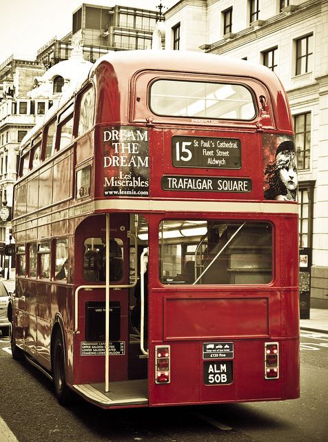 60's London Double Decker Bus - probably one of the best ways to explore this city?!