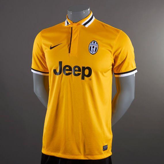 3eb47572b Nike Juventus Away Replica SS Shirt - Pro Gold Black White ...