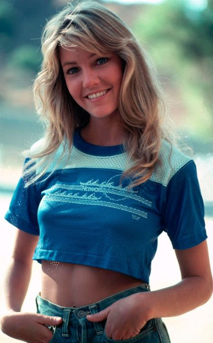 Heather Locklear..always loved her! Can you tell I'm from the 80's.....