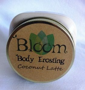 Bloom holistic beauty COCONUT LATTE BODY FROSTING is a best seller! Tighten your skin & fight cellulite with this all natural body frosting.  You're welcome!