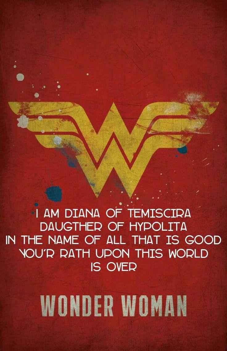 Quotes From Wonder Woman Movie: Best 25+ Wonder Woman Movie Ideas On Pinterest