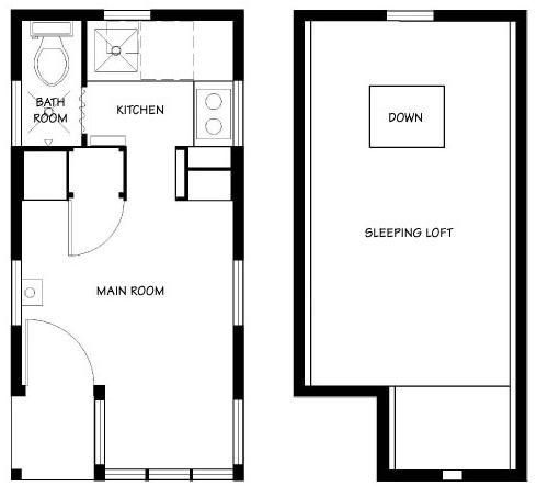 Stupendous 17 Best Images About House Floor Plans On Pinterest Micro House Largest Home Design Picture Inspirations Pitcheantrous