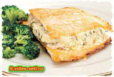 Ricette tipiche della cucina Italiana: Salmone farcito alle mandorle