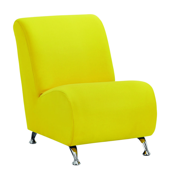 The brand new range of Lulu chairs are all about striking contemporary lines and bold colours. Available in red, cobalt blue and yellow. Price $199.
