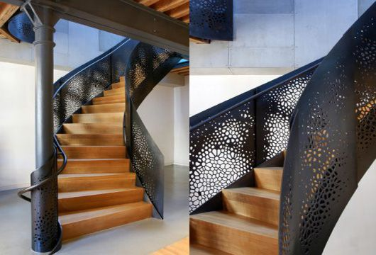 Perforated Steel Interior Design E Pearce Revisited