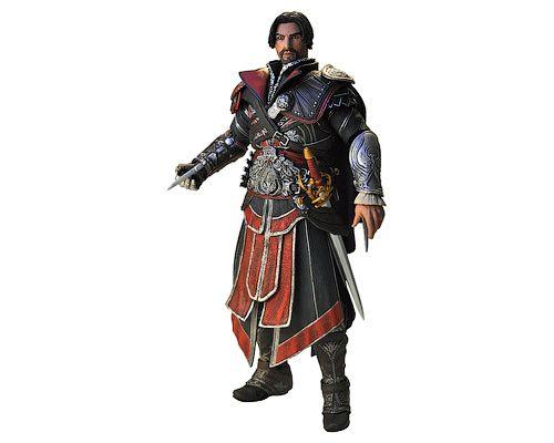 Assassin's Creed Brotherhood — Ezio Ebony Unhooded Version, Кредо убийцы Братство крови — Эцио в черном без капюшона, фигурка