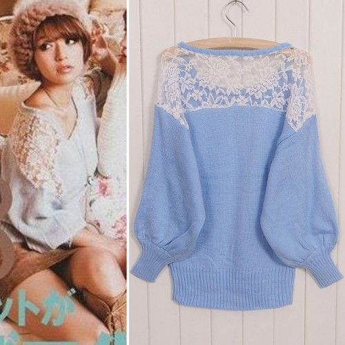 Sweet Hollow Crochet Lace Sweater for only $28.90 ,cheap Sweaters & Cardigans - Clothing & Apparel online shopping,Sweet Hollow Crochet Lace Sweater is a beautiful and sweet sweater.It can be used of the perfect gift for her.
