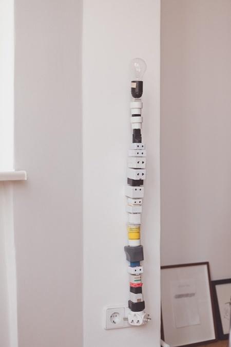 DIY: nightlight/light fixture-pinned by http://www.auntbucky.com  #DIY #light