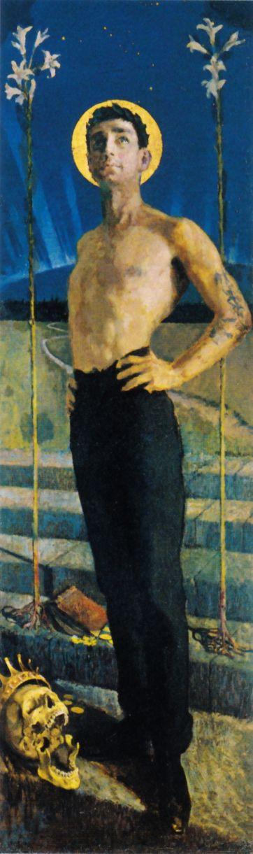 Akseli Gallen-Kallela, Die Reise nach Tuonela, 1888