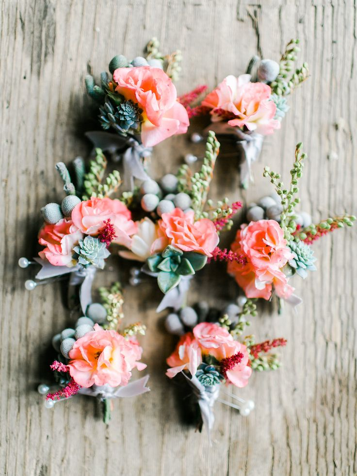 Peach Bouties Petals and Hedges florals Rachel May Photography
