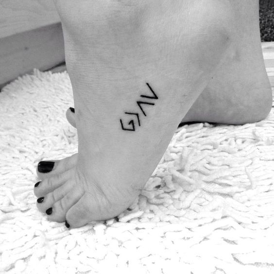 God is greater than... only.