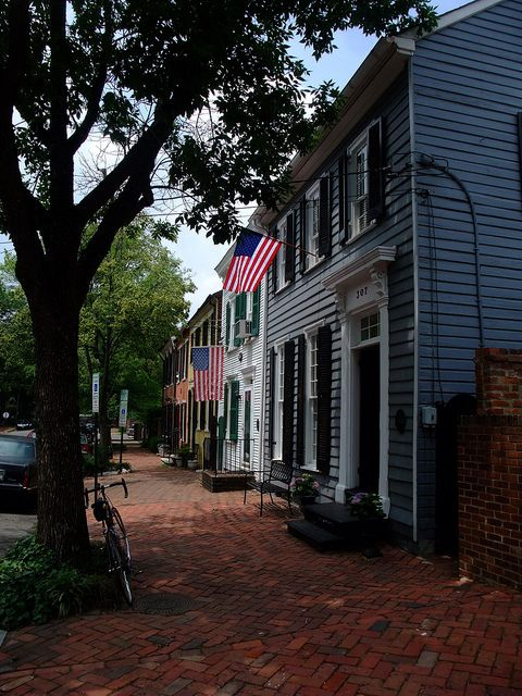 Don't miss Old Town Alexandria - just a hop, skip, and a jump away from central DC. Beautiful neighbourhood worth an evening stroll. Old Town Alexandria by mcfeelion, via Flickr