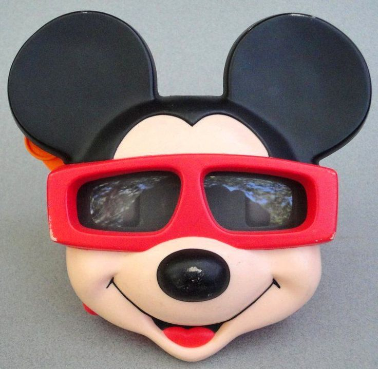 #Viewmaster Reel #Viewer #MickeyMouse Face Ideal Group Plastic Walt Disney Co Vtg #IdealGroupInc