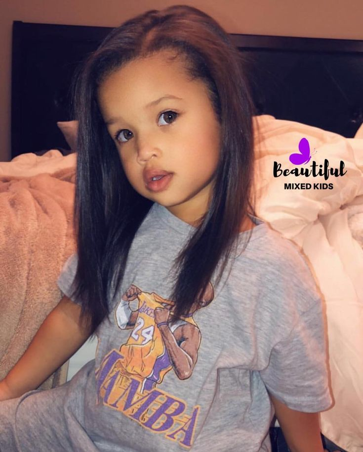 """BEAUTIFUL MIXED KIDS on Instagram: """"Penelope - 3 Years • African American, German, Czech & Native American 💜 Ciera Hughes.butler DM FOR A INSTA..."""