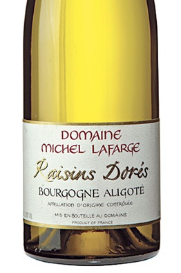 Domaine Michel Lafarge Raisins Dores Bourgogne Aligote 2011 - affordable white wine from Burgundy