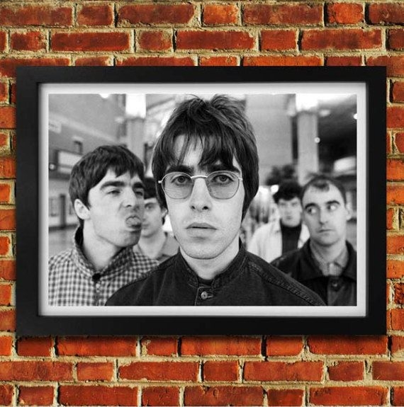 Oasis Liam Noel Gallagher photographic art print by BoxPrintsStore