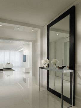 Contemporary Residence Boca Raton, Florida - contemporary - hall - miami - Interiors by Steven G
