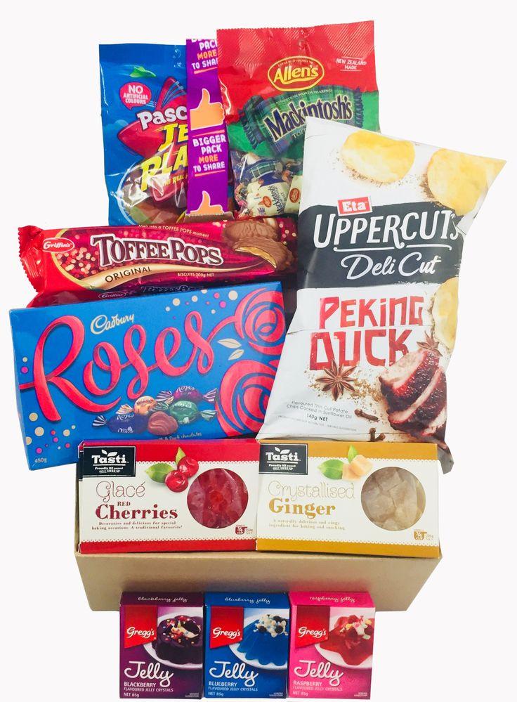 January 2018 Kiwi Treats Box