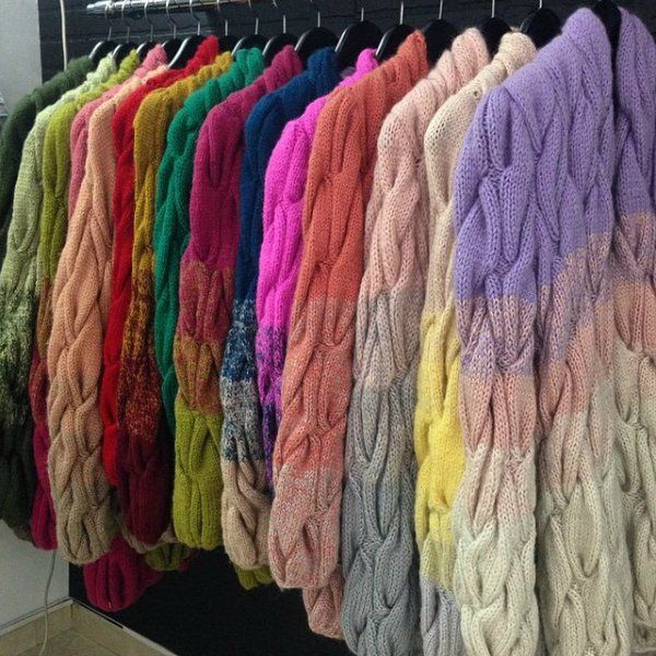 Like the ombre effect but not keen on the cardigan design itself
