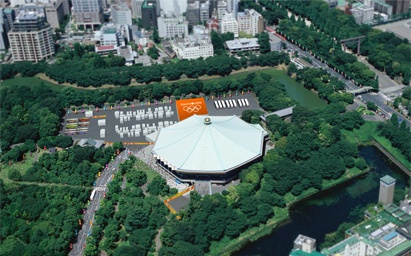 TOKYO 2020 Olympic & Paralympic Games Venue Plan  | Nippon Budokan at Kitanomaru park