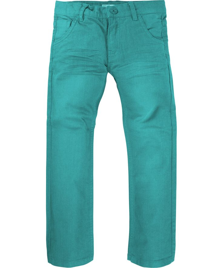 Name It Groen-Blauwe denim broek met Aanpasbare taille. name-it.nl.emilea.be