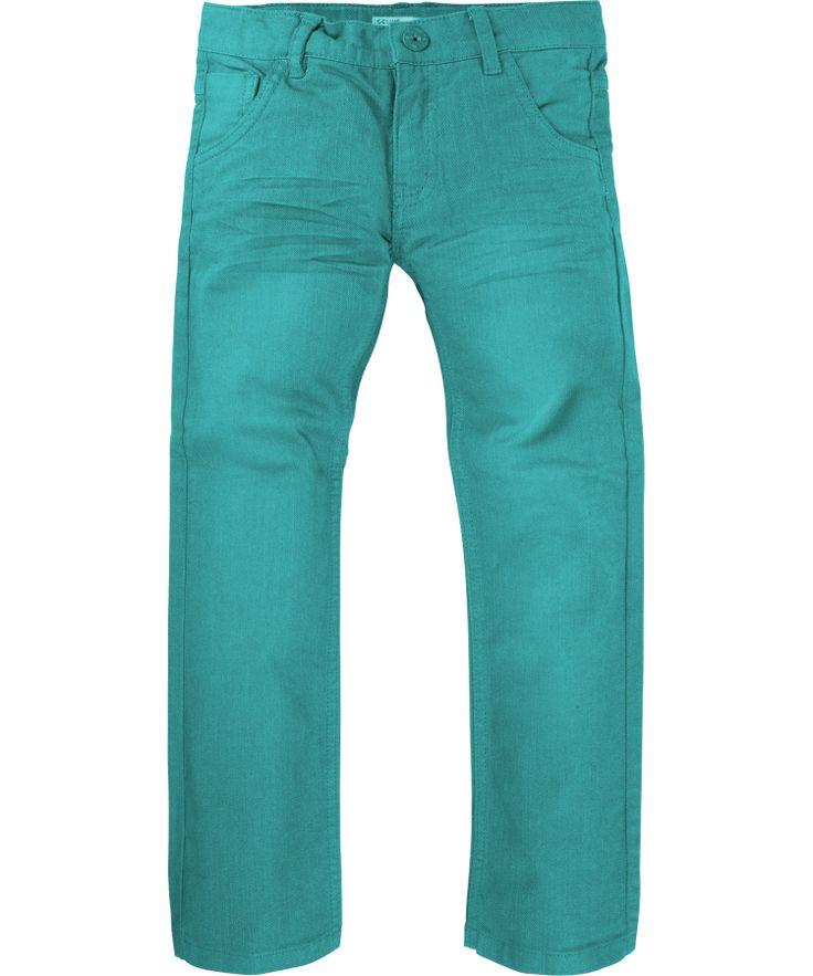 Name It Groen-Blauwe denim broek met Aanpasbare taille. nl.emilea.be