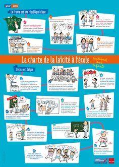 La Charte de la laïcité expliquée aux enfants - Laïcité à l'école