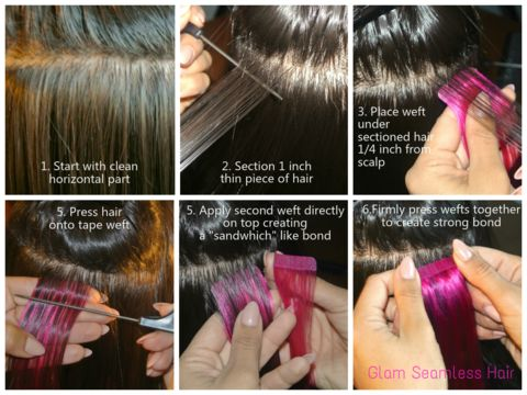 Become certified in tape in hair extensions and increase salon profits! Free starter kit and wholesale pricing with Glam education package. www.glamseamless.com