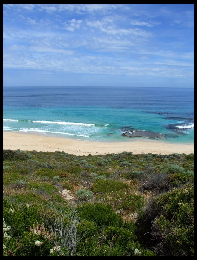 South western coast of Australia