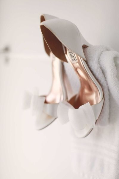 Badgley Mischka. Just a little wedding-like. #WeddingShoes | #AislePerfect